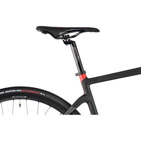 Wilier Cento 1 Hybrid Disc Ultegra 2x11, black/red